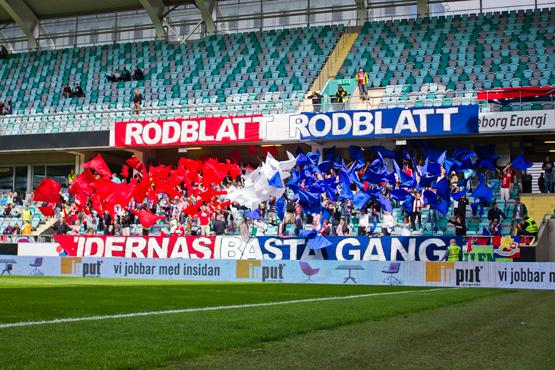 Rödblått, rödblått - Tidernas bästa gäng! Foto: Patrik Boyton