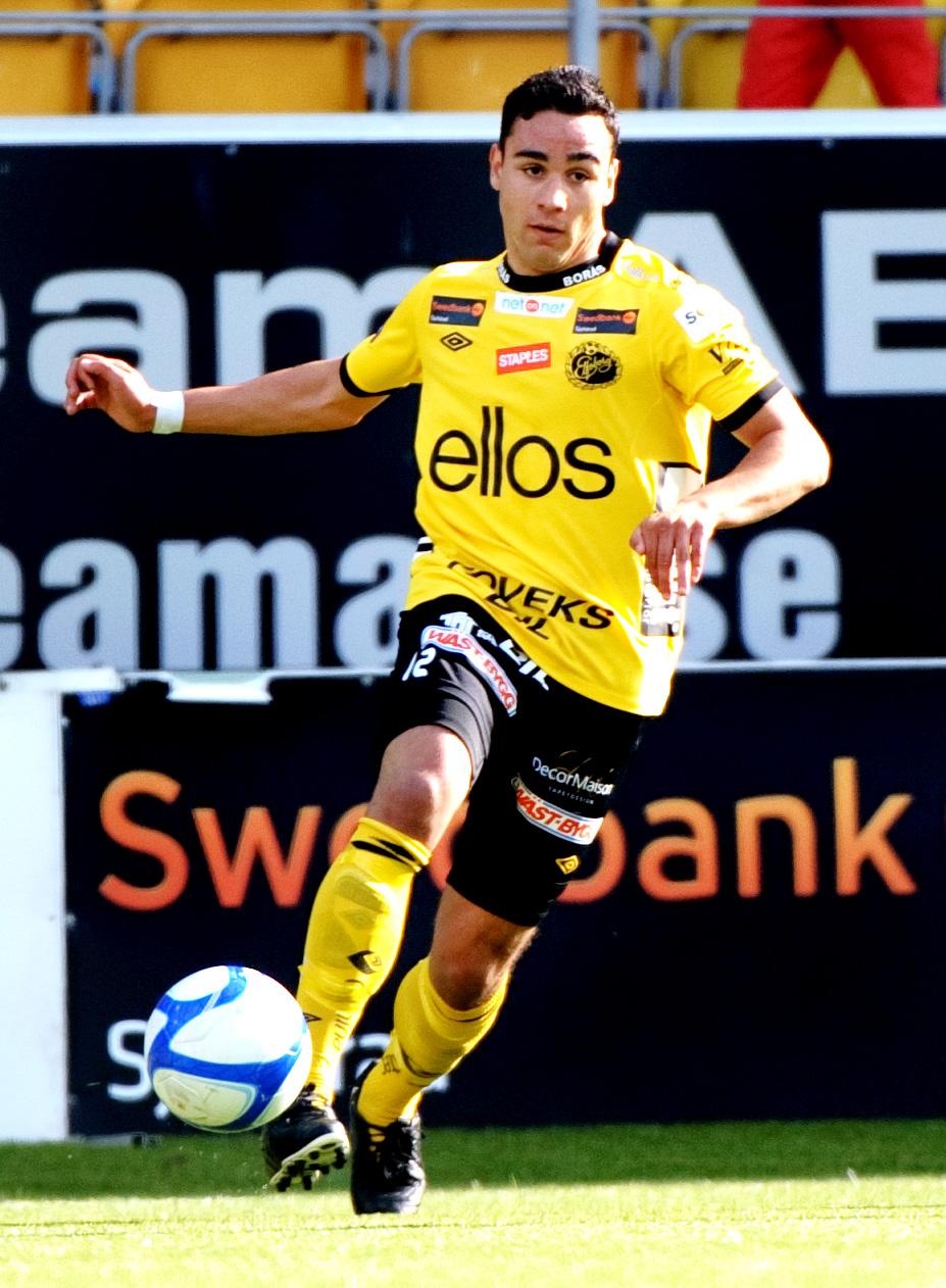 Richard Yarsuvat. Här i Elfsborgs tröja. Foto: Nyheter24