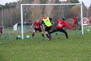 Abrahamsson Rosén Ohlsson träning 1 november Bild: Felix Jonsson