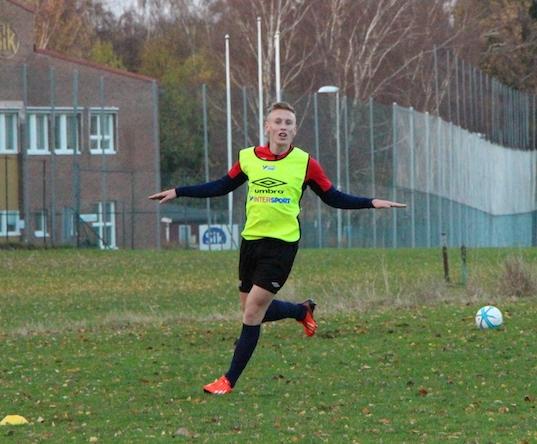 Ohlsson firar sitt matchavgörande mål med klass Bild: Felix Jonsson