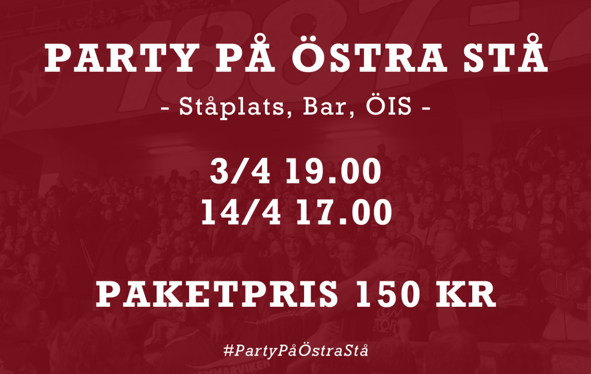 Party på Östra stå 2